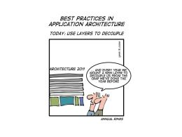 Best Practices in Application Architecture