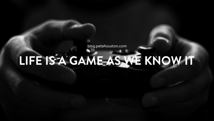 Life is a Game as We Know It