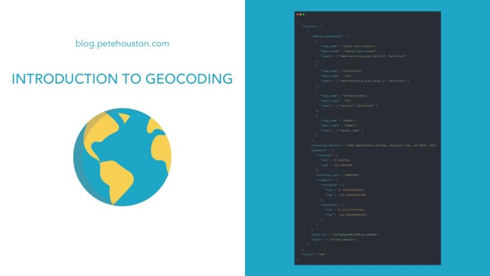 Introduction to Geocoding