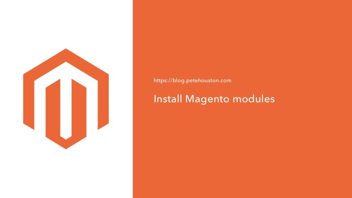 Install Magento Modules
