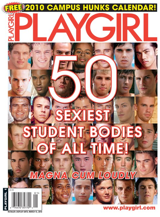 Playgirl 50 Sexiest Student Bodies of All Time