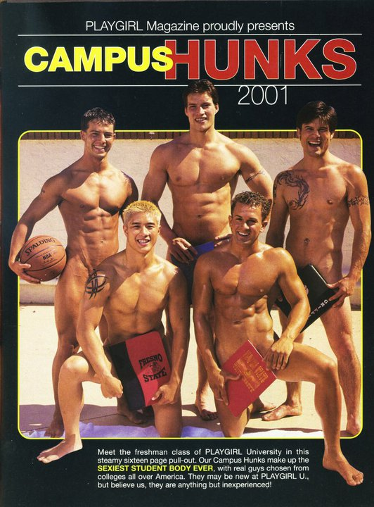 Playgirl Campus Hunks 2001
