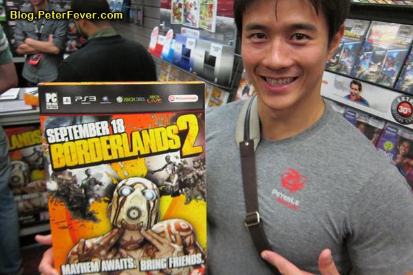 Picking up Borderlands 2 from Gamestop