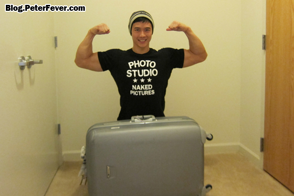 Big Muscle Matches Big Suitcase
