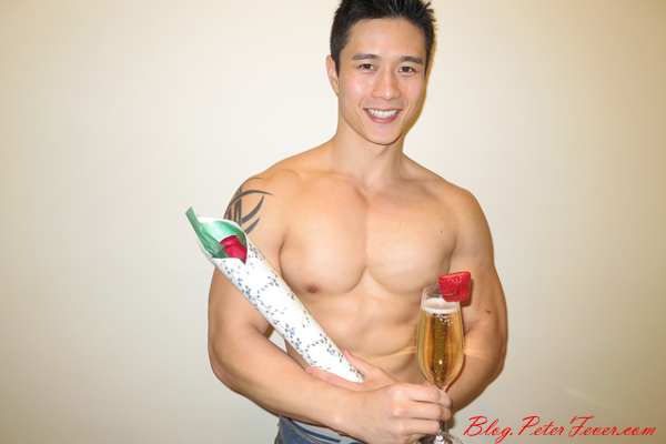 Flowers, Champagne, and the Perfect Man