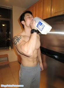 Drink tons of Milk