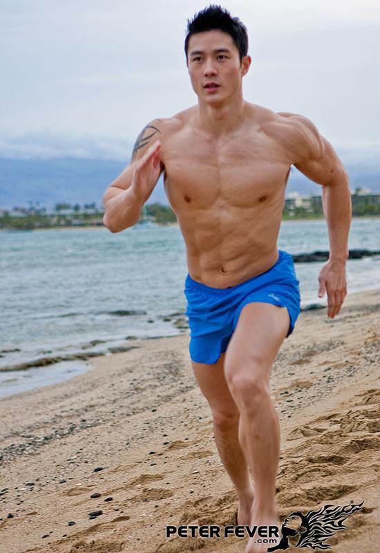 "Photo Set ""Beach Runner"""
