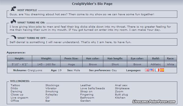 CraigWylder-bio