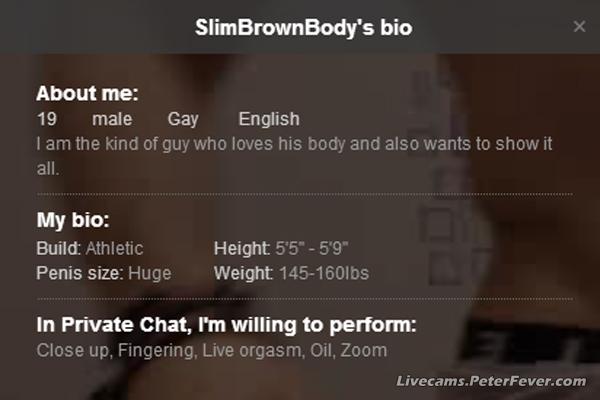 SlimBrownBody-Bio