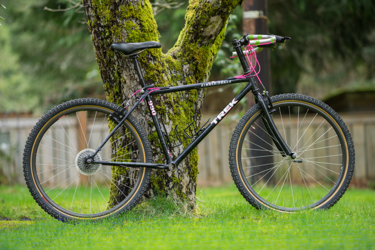Olivia's Touring Bike, 1991 Trek Singletrack 990…