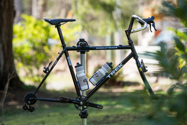 after all this time, an update on the '92 Trek 950 Singletrack…