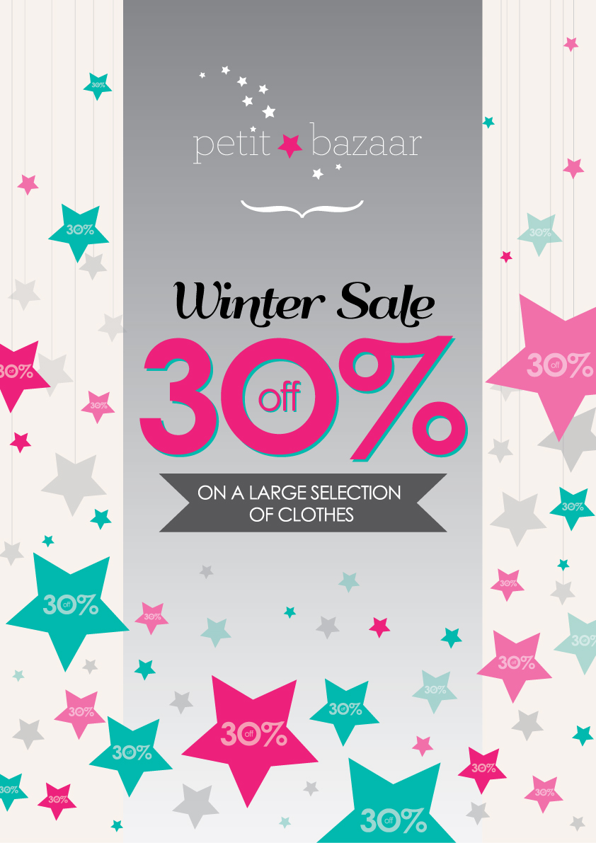 Winter clothing sales have started at Petit Bazaar ...