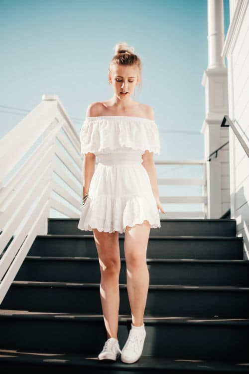 what to wear to a wedding if you are petite