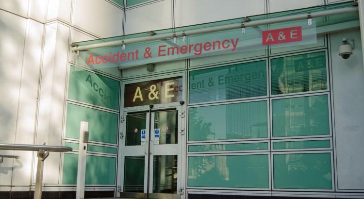 UCL A&E entrance