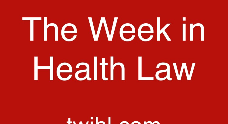 the week in health law podcast logo