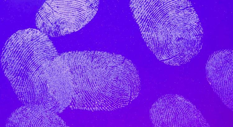 thumbprints on glass