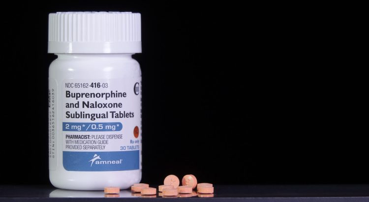 pill bottle - buprenorphine / naloxone