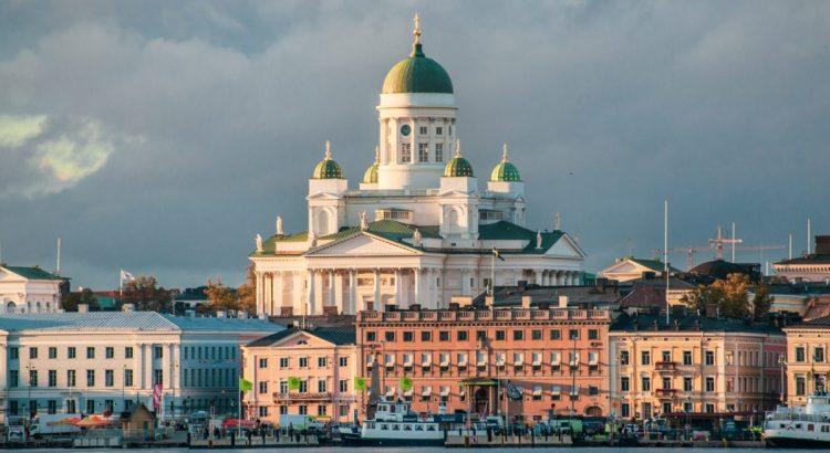 Helsinki Cathedral, Helsinki, Finland.