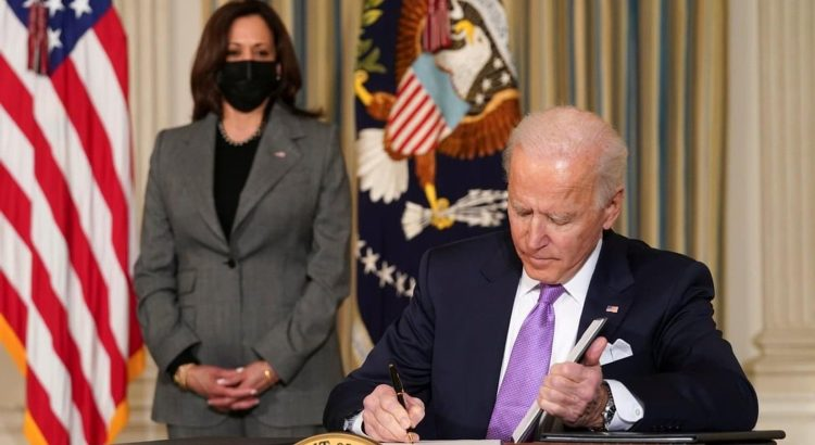 President Joe Biden and Vice President Kamala Harris.