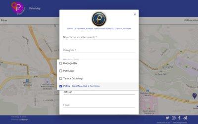 PetroMap actualiza las opciones de pago de los establecimientos