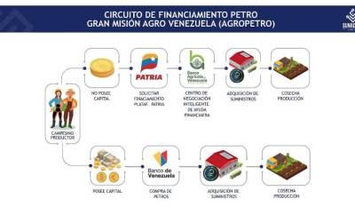 ¿Cómo funciona el Circuito Financiamiento del Agropetro?