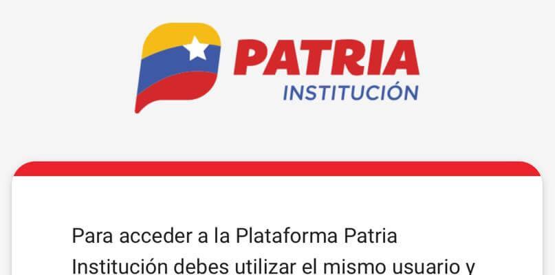 Pago en PETROS de Facturas a PDVSA desde la Plataforma Patria Institución