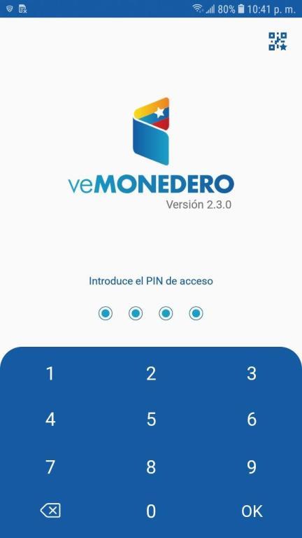 Aplicación veMondero Patria versión 2.3.0