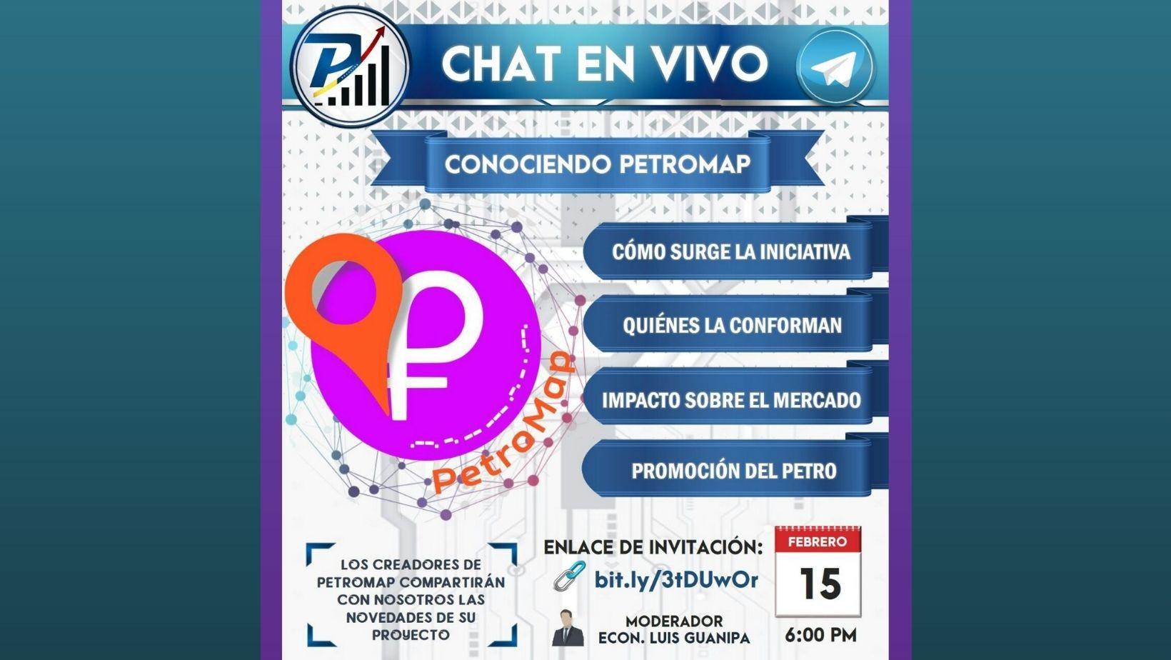 Foro Chat EN VIVO. Conoce a PetroMap