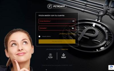 Nueva interface de PetroApp