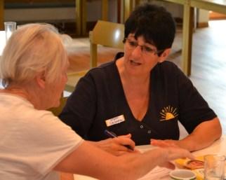 Einzelbetreuung für Patienten mit Demenz