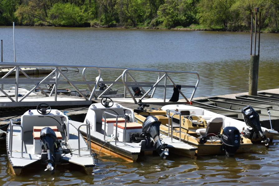 Boats at Bladensburg Waterfront Park