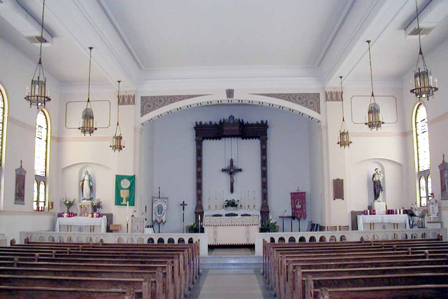 St. James Roman Catholic Church, Mount Rainier