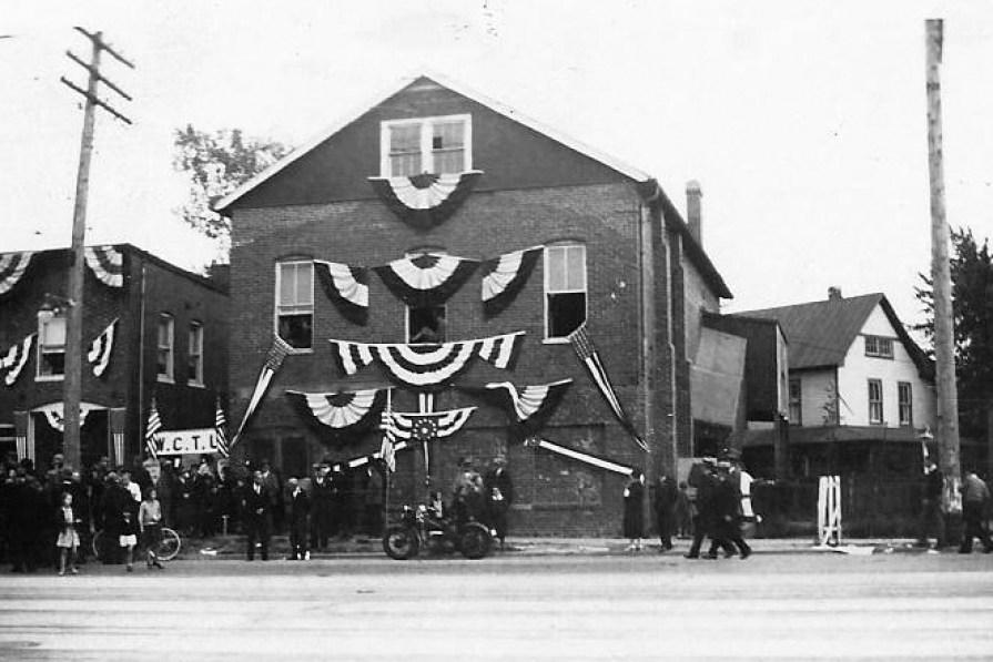 Historic photo of Potts Hall