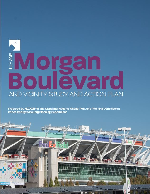 Cover of Morgan Boulevard Action Plan