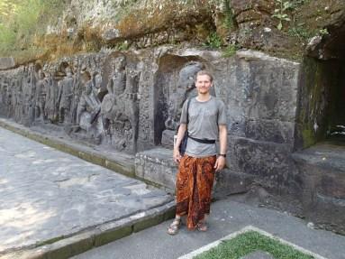 Yeh Puluh Reliefs, hier kommen nur wenige Leute vorbei