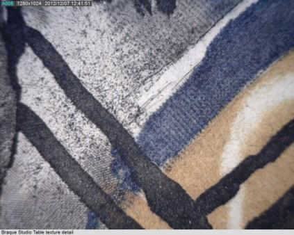Detail illustrating printing textures