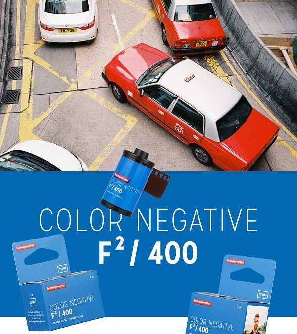 Lomography announced Color Negative F²/400 35mm film