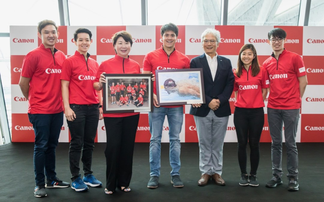 Canon announced two sports sponsorship agreements