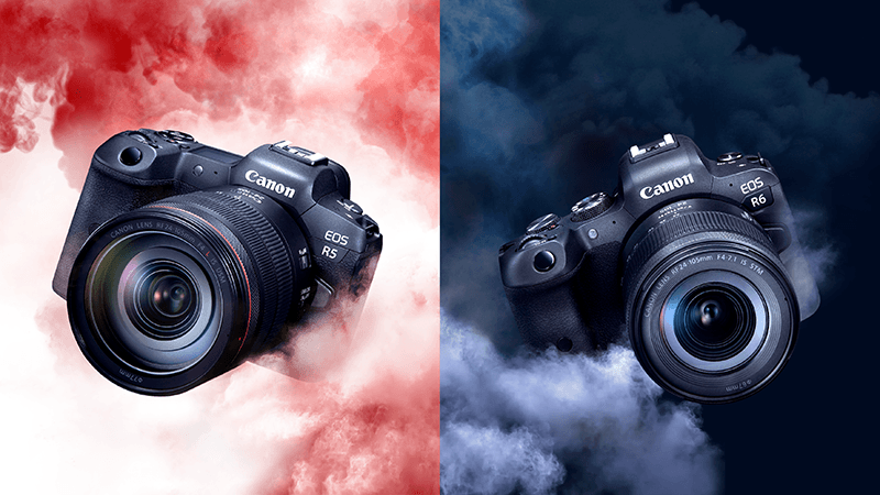 Canon announced EOS R5 and EOS R6