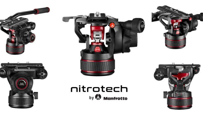 Manfrotto Nitrotech noua tehnologie a capetelor video fluide