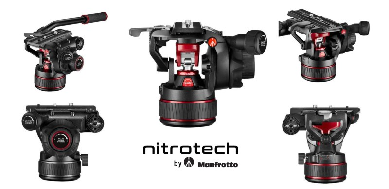 Manfrotto Nitrotech noua tehnologie a capetelor video fluide