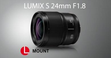 Panasonic lanseaza LUMIX S 24mm F1.8