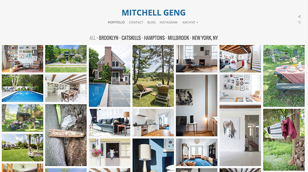 Mitchell's PhotoShelter homepage