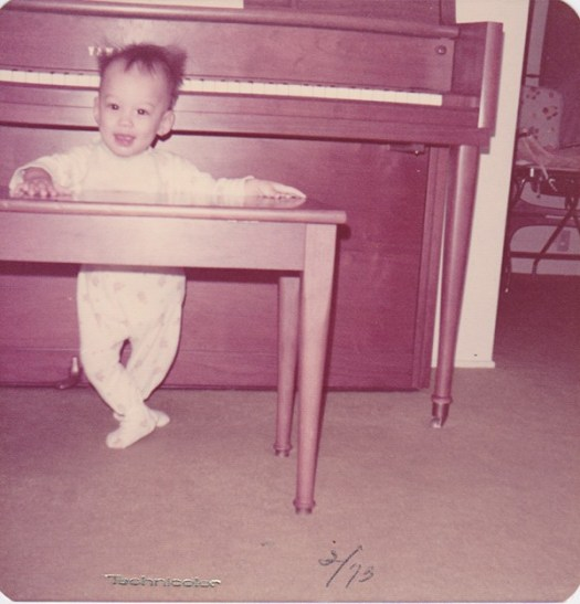 Me and my piano.