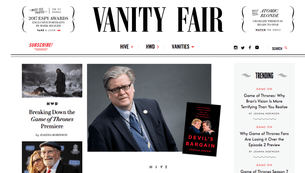 What The Photo Editor of VanityFair.Com Wants