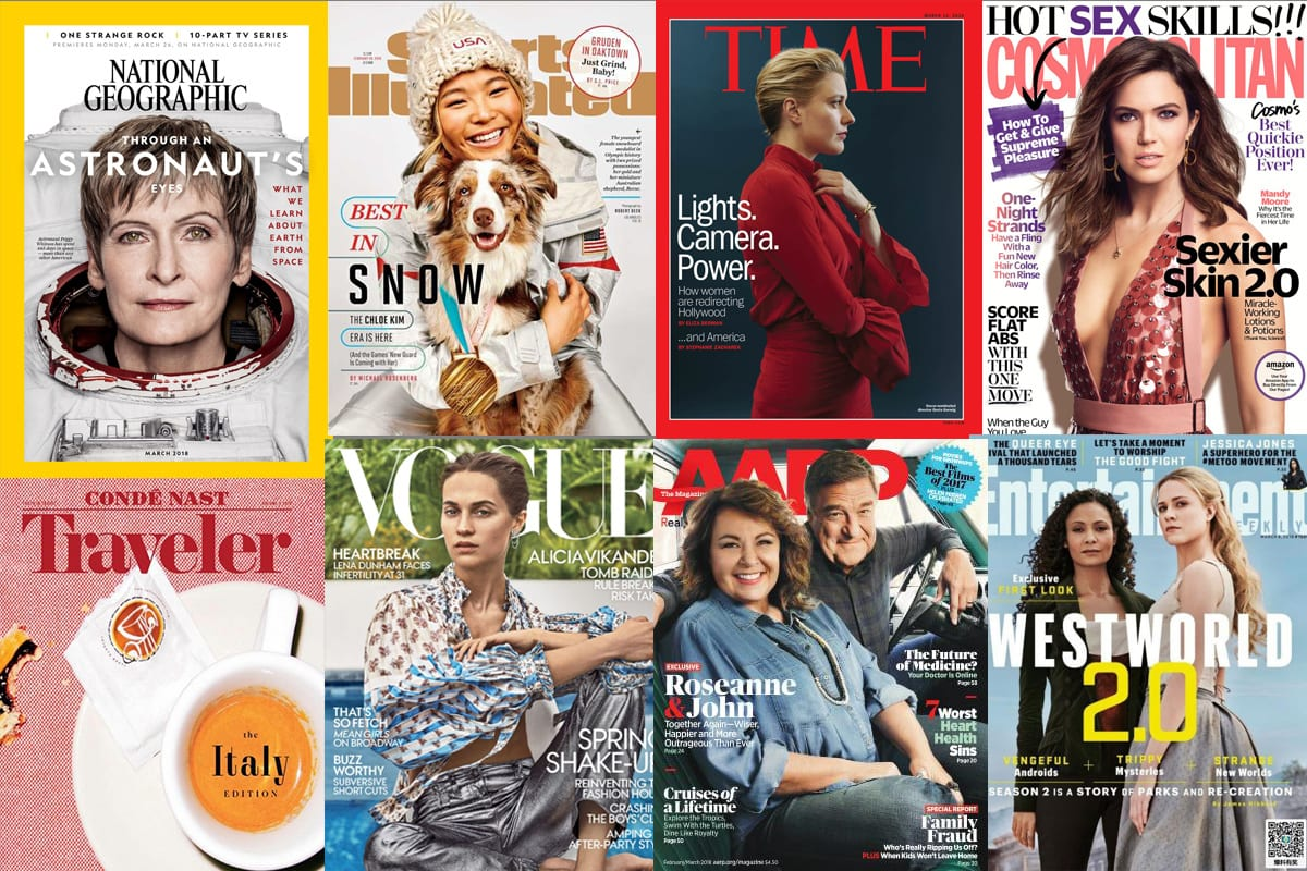 Inclusion Rider This: Magazine Cover Photographers by Gender - PhotoShelter Blog