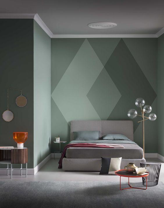 Arredare la casa con il color verde petrolio. Verde Avete Mai Pensato A Questo Colore Per Le Pareti Di Casa