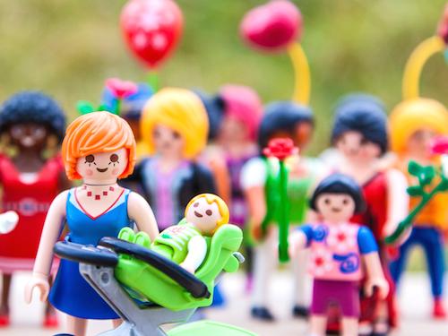Personaggi Playmobil per la festa della mamma 2015