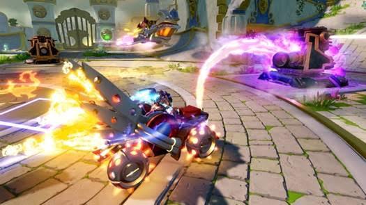 Skylanders SuperChargers e i veicoli che prendono vita