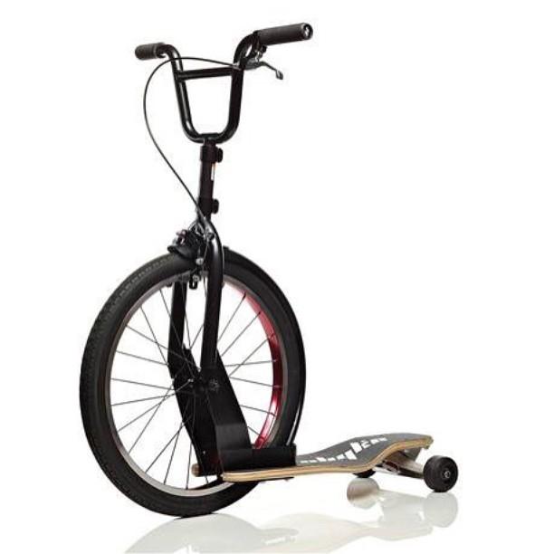 Sbyke, incrocio tra bici, skateboard e monopattino